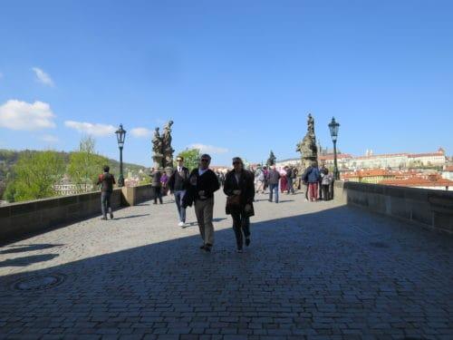Prague, Balade, Republique tchèque, le carnet de calli, Pont Charles, Praha